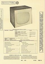 1956 Service Photofact Manual w-Schematic WESTINGHOUSE H-939K21 V-2342-14 TV