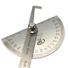 100 mm Acero 0-180 Grado Transportador Visor de ángulo brazo de la herramientaVP