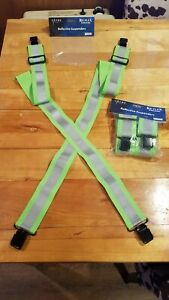 HIGH QUALITY REFLECTIVE SUSPENDERS