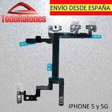 Cable flex de Encendido Volumen Silencio para iphone 5 5G mute power connector