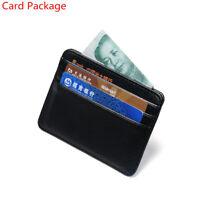 Bag Travel Litchi Pattern Money Pocket Id Card Holder Wallet Case Card Package