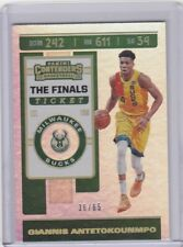 2019-20 Panini Contenders Basketball Giannis Antetokounmpo /199 Final Ticket