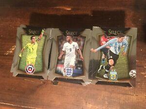 2015-16 Panini Select Soccer Base Set (1-100) MESSI RONALDO POGBA STERLING