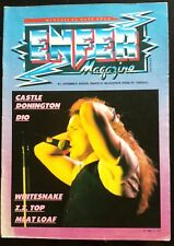 Enfer Magazine n°5; Meat Loaf/ Z.Z. Top/ Whitesnake/ Castle/ Donington/ Dio