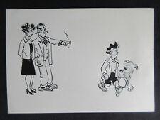 1940 DAGWOOD Comic Strip Original Art on Art Board MINT