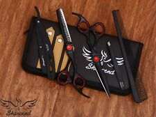 Salon Hair Cutting Scissors 6.5 Professional Hairdressing Barber Shears 4Ps/Set