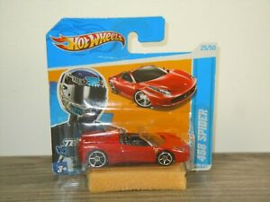 Ferrari 458 Spider - Hotwheels in Box *48142