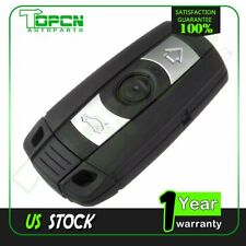 New Uncut Keyless Entry Remote Ignition Key Fob Replacement for BMW 528i 335i