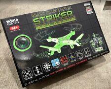 World Tech Toys Striker Glow-In-The-Dark 2.4Ghz 4.5Ch Rc Spy Drone Live View