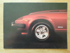 DATSUN 280ZX SPORTS CAR orig 1980 UK Mkt Sales Brochure - Nissan Fairlady Z