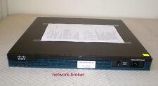 Cisco Cisco2901/K9 Cisco 2901 w/ 2 GE, 4 EHWIC, 2 DSP, Router funktionsgeprüft