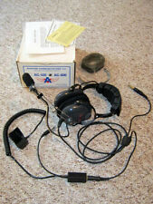 Aviation - Pilot Headset & Push To Talk Microphone - Aviation Comm. - AC-800S