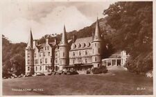 Antique Real Photo Postcard c1930-40s Trossachs Hotel Stirling, Scotland, Uk