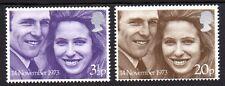 Great Britain - 1973 Royal wedding Mi. 637-38 MNH