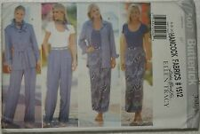 Butterick 5007 Sewing Pattern Misses' Shirt~Bodysuit~Skirt Sizes 6-8-10 1997 UC