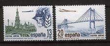 SPAIN 1981 MNH SC.C179/C180 Air mail