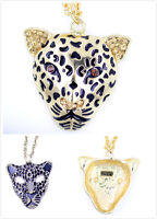 Très cool Art Déco style vintage léopard collier multiple choix