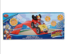 NEW Disney Mickey Mouse Deluxe Track Set - Mickey and the Roadster Racers