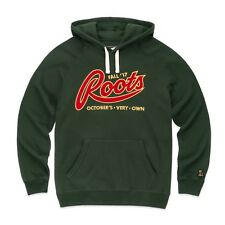 NEW October's Very Own OVO X ROOTS Fall'17 Hoodie Forest Green LARGE Drake Hoody