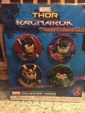 Thor Ragnarok Magnet set of 4 Funko Marvel Collector Corps SEALED NEW