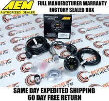 AEM 30-4110 UEGO Wideband O2 Air Fuel Ratio Gauge AFR 52mm with 4.9 LSU Sensor