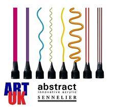 Sennelier abstrait peinture acrylique Conseils Pack de 8 Artistes couleur aplicator buses
