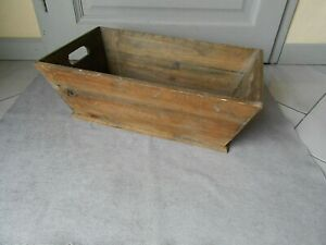 1950s VINTAGE french Wooden BOX  Planter Jardiniere