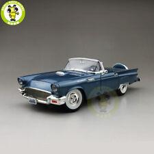 1/18 1957 Ford THUNDERBIRD Road Signature Diecast Model Car Toys Blue