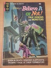 Ripley's Believe it or Not! #29 ~ FINE FN ~ 1971 Gold Key COMICS