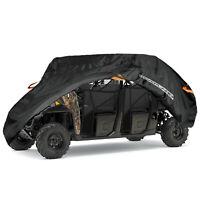 Utility Vehicle Storage Cover 2 Row Seats For Polaris Ranger Crew XP 900 1000
