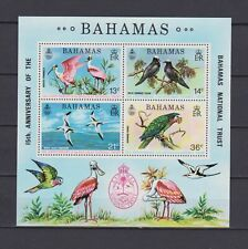 s16766) BAHAMAS  MNH** Nuovi** 1974 Birds s/s