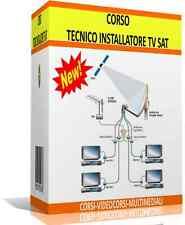 CORSO PROFESSIONALE  PER TECNICO INSTALLATORE IMPIANTI TV  SATELLITARE DIGITALE