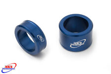 YAMAHA YZF YZ-F 250 450 2014-2017 FRONT WHEEL SPACERS BLUE