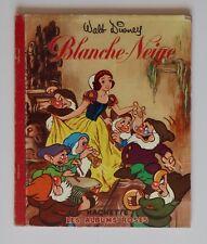 BLANCHE-NEIGE - WALT DISNEY - ALBUMS ROSES - HACHETTE 1955