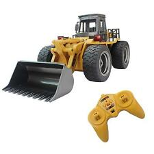 RC Construction Tractor Toy 2.4Ghz with Functional Front Loader 6 Channel 1:24
