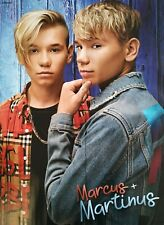 MARCUS & MARTINUS - A2 Poster (XL - 42 x 55 cm) - Clippings Fan Sammlung NEU