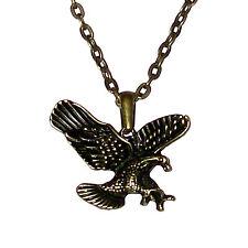 Águila Collar colgante de Collar Hombre Mujeres Collar Modeschmuck 46cm