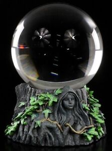 Wahrsager- Kristall Kugel - Magischer Zirkel - Wahrsagerkugel Magie Hexerei