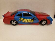 Marvel Spiderman Toy Car Blue Red Boys Comics Avengers Toddlers