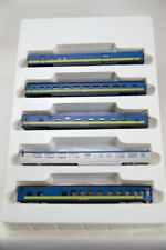 N Smooth Side 4000 Series 5 Car Set– VIA Rail (Blue/Yellow) (1-004022)
