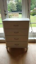 White Tall Boy Chest Of Drawers