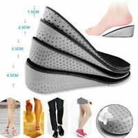 1 Pair Insole Heel Lift Insert Shoe Pads Height Increase Cushion Elevator Taller