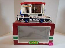 LGB Lehmann Circus Car 4038 G Scale Train Car O.B.C-7 Excellent