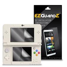 4X EZguardz Screen Protector Skin Shield 4X For Nintendo 3DS 2015 (Ultra Clear)
