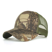 9b5d9d0f Men Fashion Adjustable Camo Mesh Baseball Caps Snapback Outdoor Sunbonnet  Hat