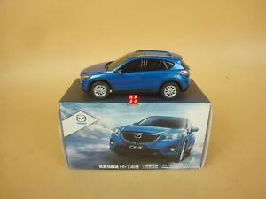 1/43 Mazda CX-5 Blue color model car ( PLASTIC ! Black color windows ! )