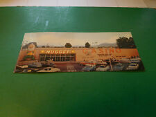 Old Nugget Casino Post Card, 1950s, Sparks, Nevada