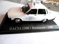 Dacia 1300, Bucharest, 1980 altaya taxi du monde 1/43 metal