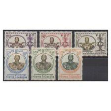 Cambodge - 1958 - No 72/77 - Royauté - Principauté