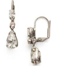 Sorrelli Snow Bunny Earrings EBF20ASSNB antique silver tone
